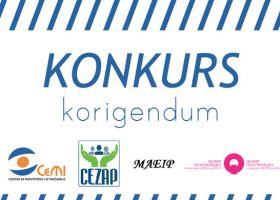 Korigendum konkursa za dodjelu malih grantova nevladinim organizacijama